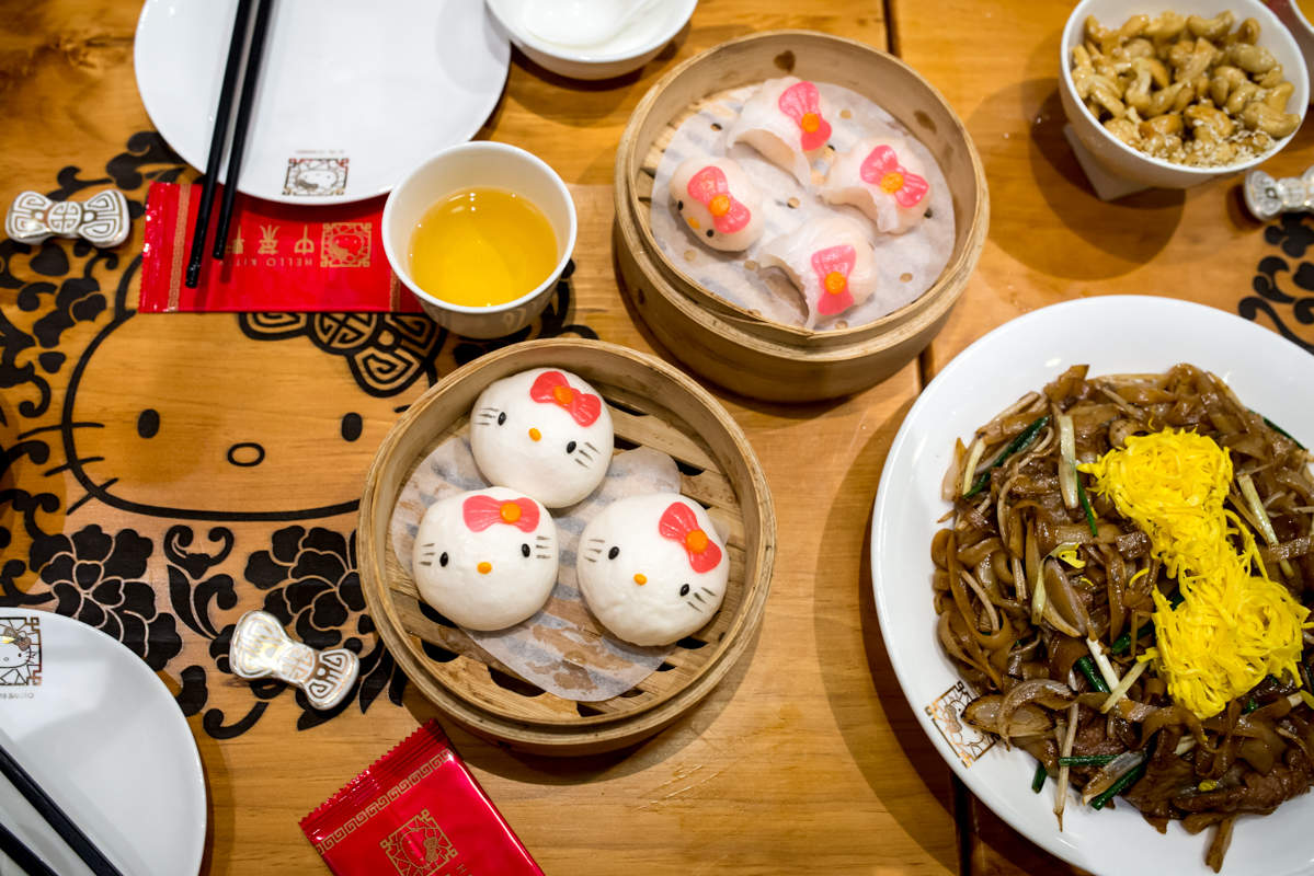 The first Hello Kitty Dim Sum Restaurant just opened in Hong Kong