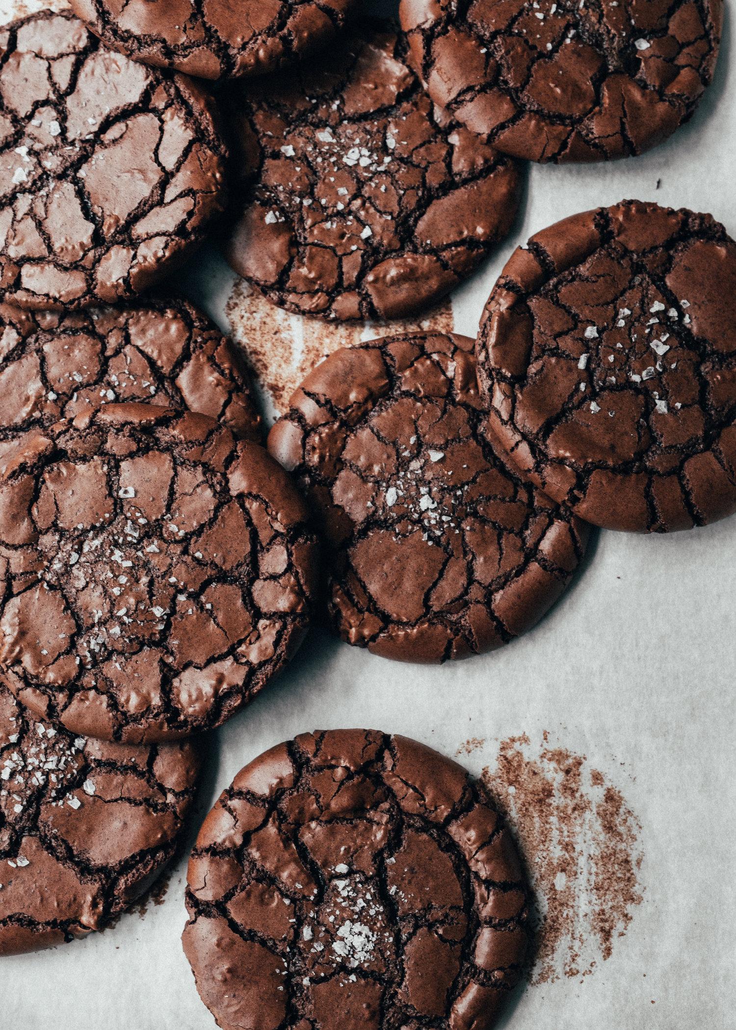 brownie cookies recept