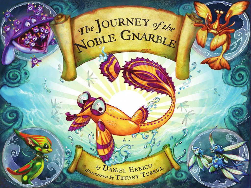 The Journey of the Noble Gnarble Hardcover Book Cover Image All Kids Stories.jpg