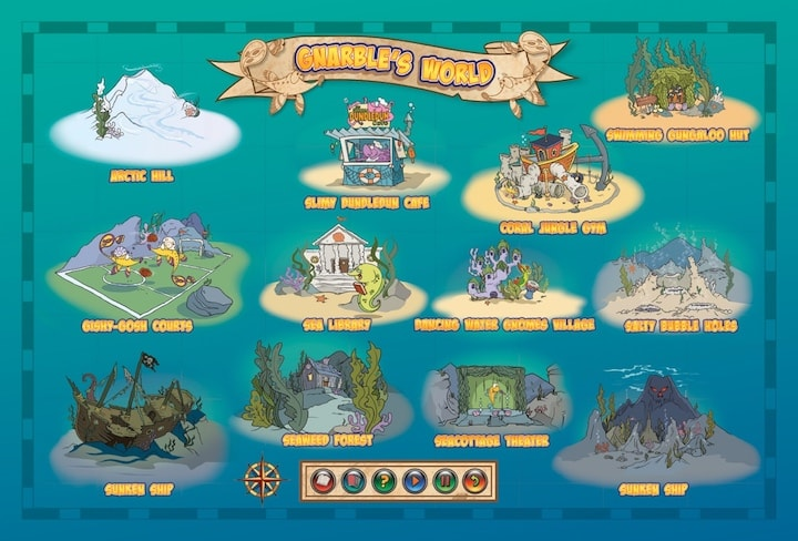 Gnarble's World Underwater Map Showing Twelve Locations All Children's Stories.jpeg