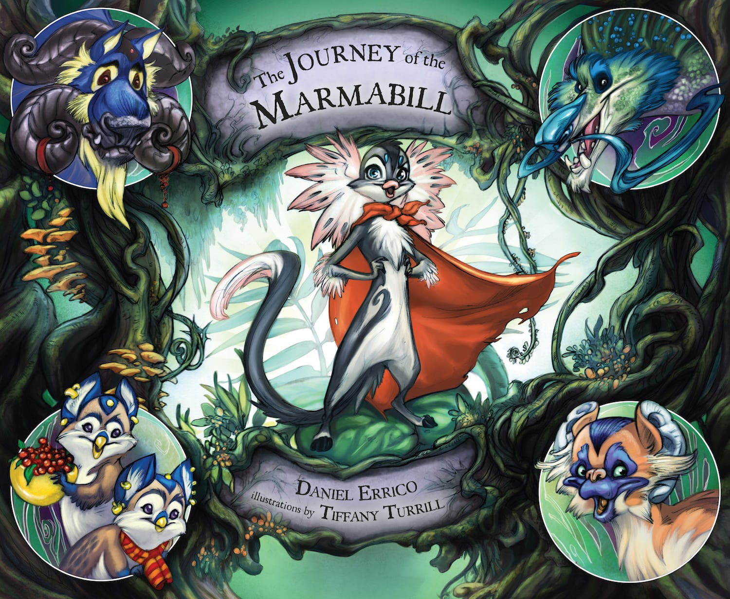 The Journey of The Marmabill Hardcover Book Cover All Stories for Kids.jpg