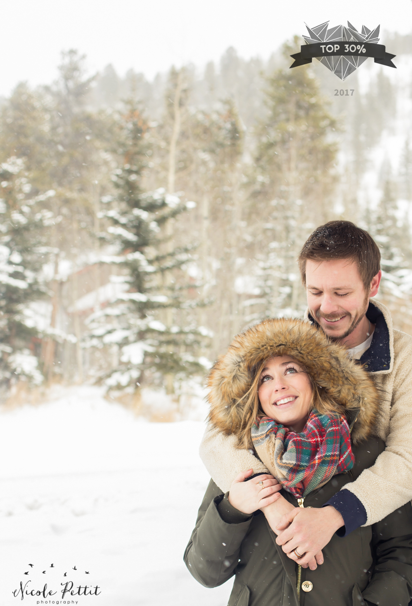 Category- Engagement & Couples     Round 6/12    Placed 9,294 out of 32,282      Engagement Session- Breckenridge, Colorado