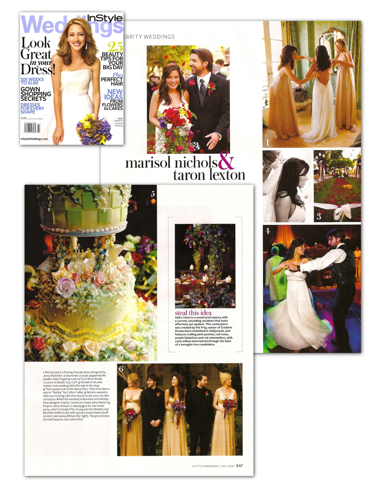 InStyle Weddings, Marisol Nichols, MWPR publicity, Los Angeles