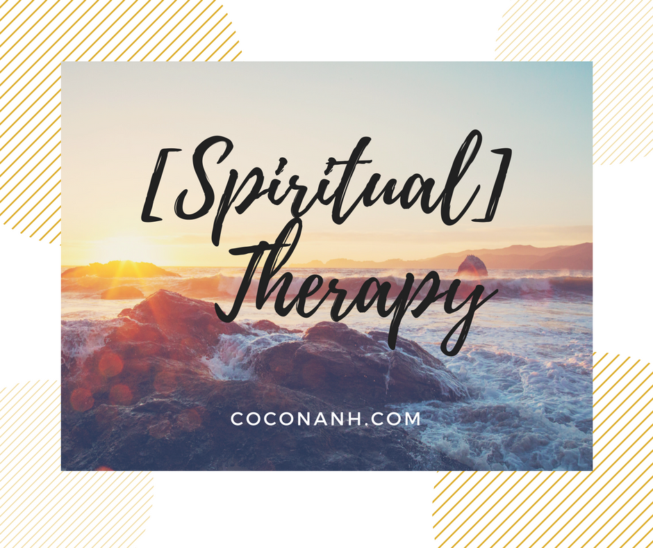 Spiritual Therapy: Getting my faith back on track! -