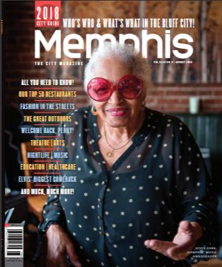 Memphis Magazine, August 2018 (Print)