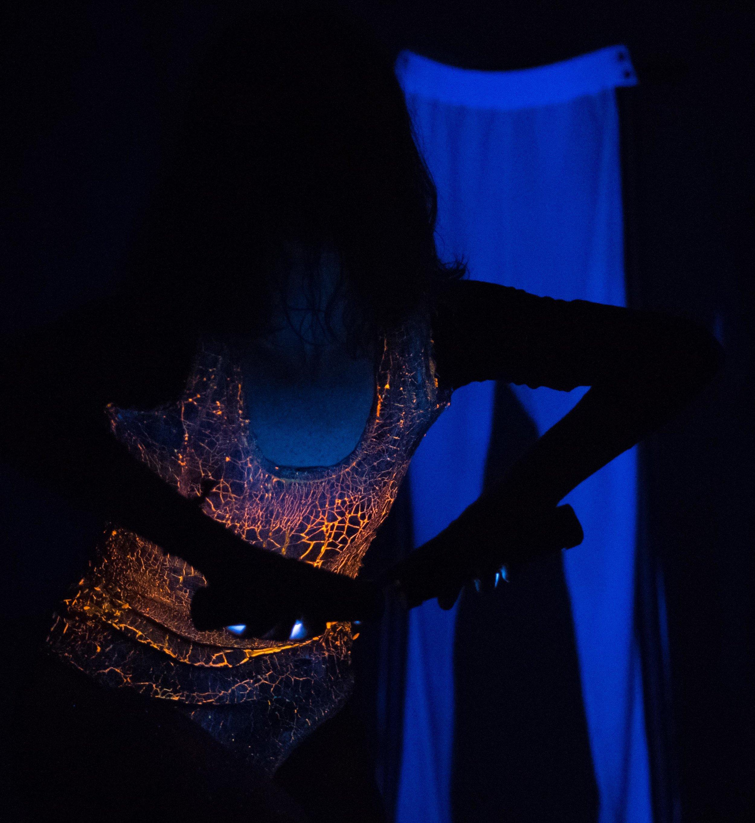 Dancer Lauren Newman performing at not.a.t.Work.