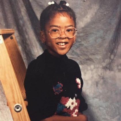 Me: 3rd Grade. I had Minnie Mouse Glasses