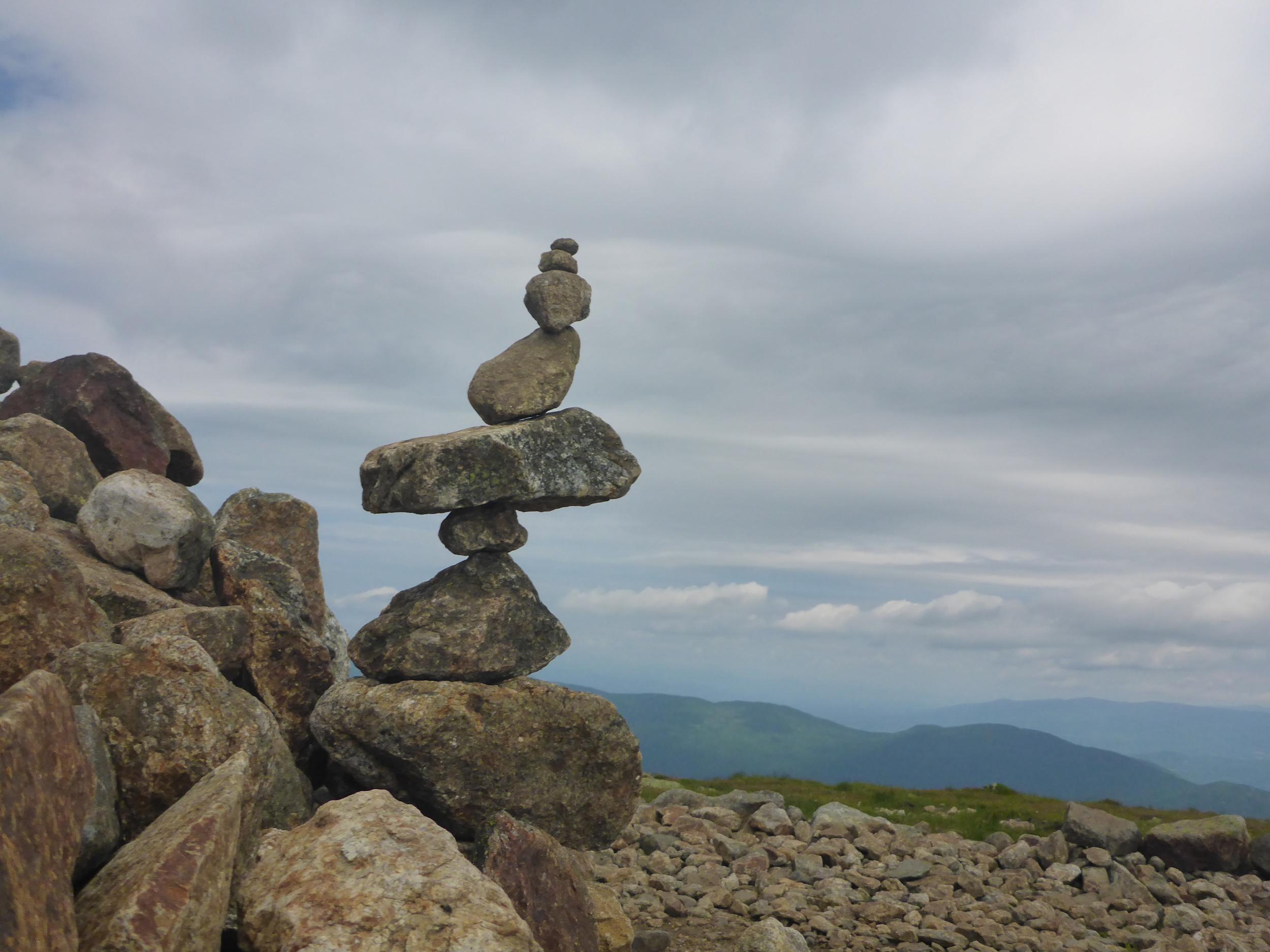 -Rock Cairn, Mt.Eisenhower