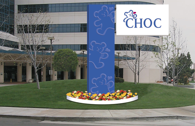 Exterior Signage | Children's Hospital of Orange County