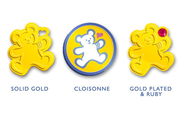 CHOC Cloisonne Pins