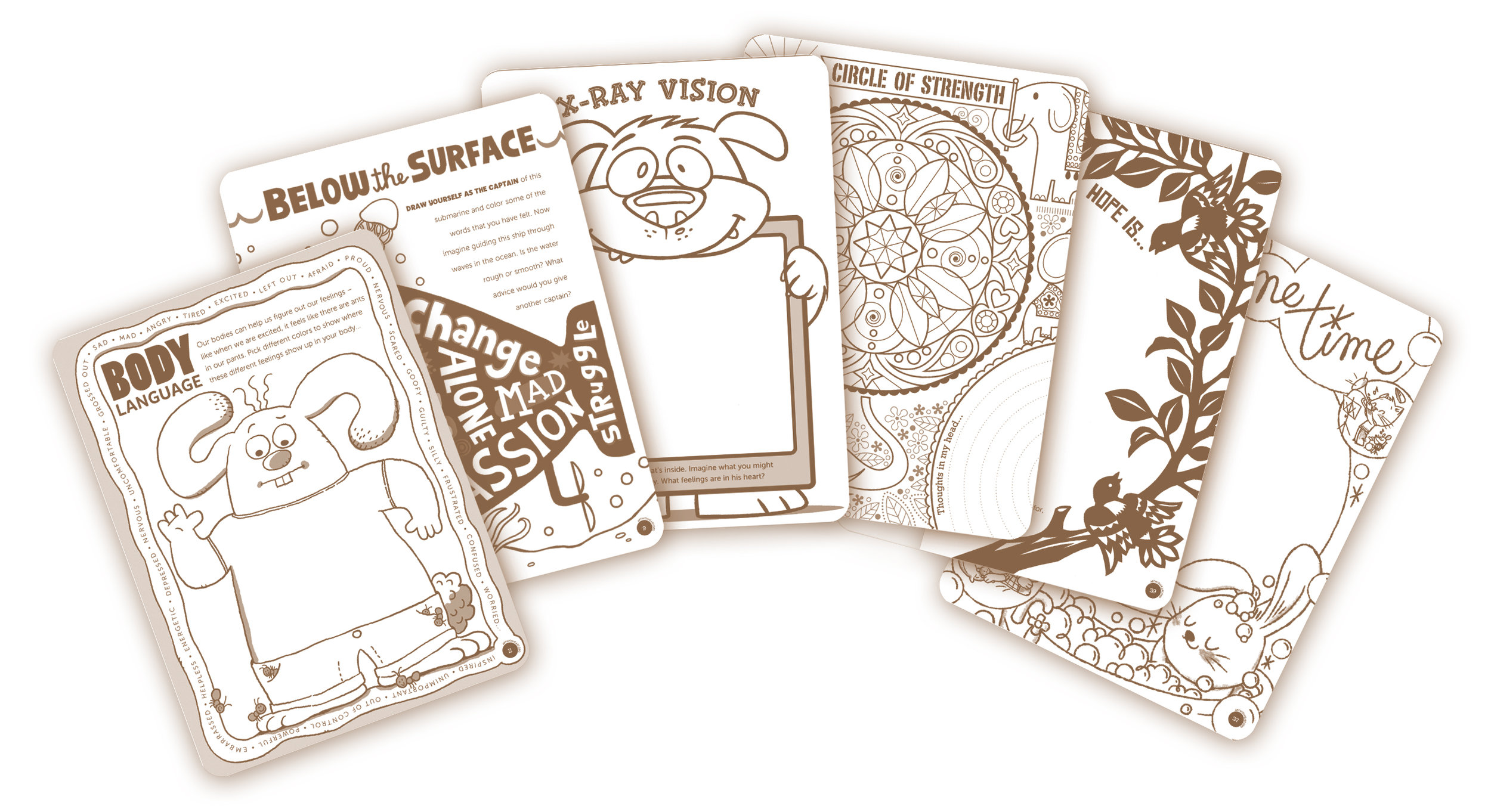 Sample activity pages