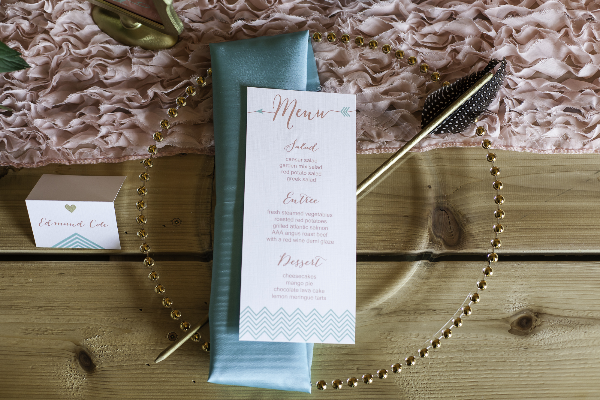 whimsical arrow stationery