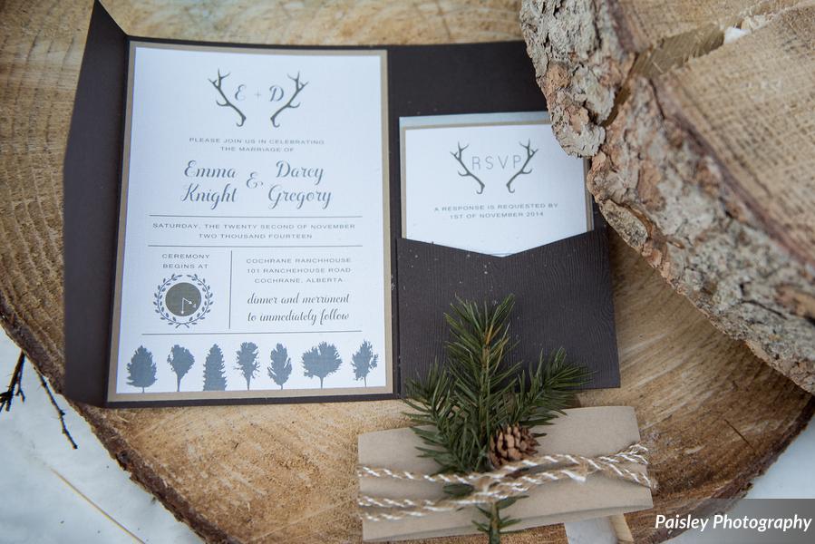 woodsy invite