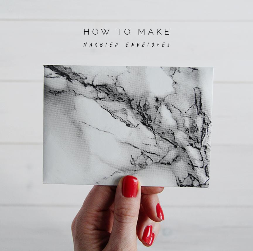 marble envelopes