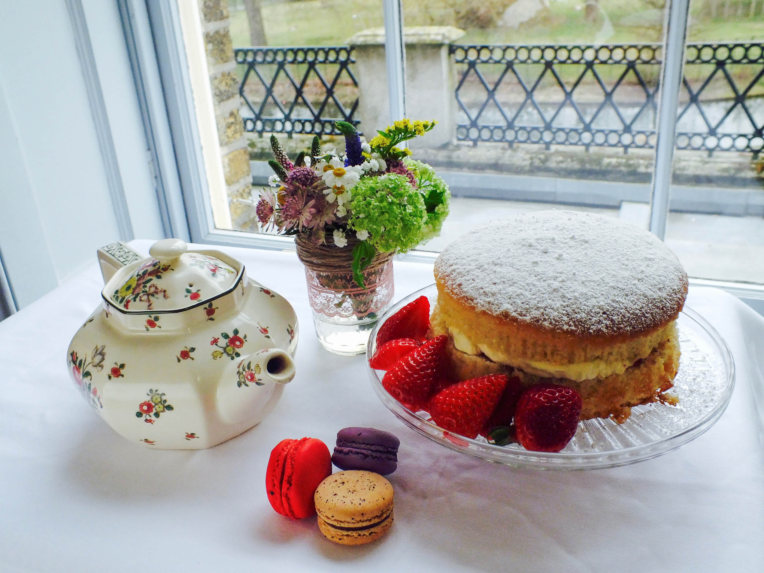 afternoon tea private catering london