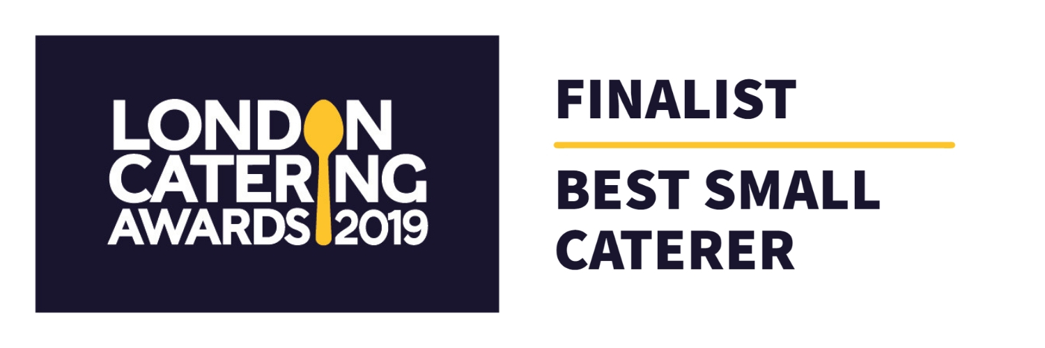 Finalist for London Catering Awards 2019