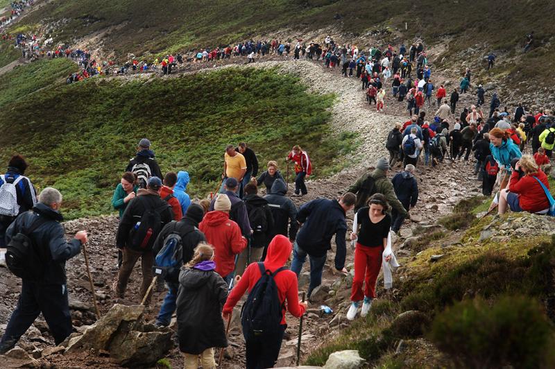 Pilgrimage Climb Croagh Patrick