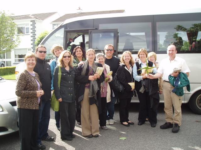Sr Mary Minahan with group