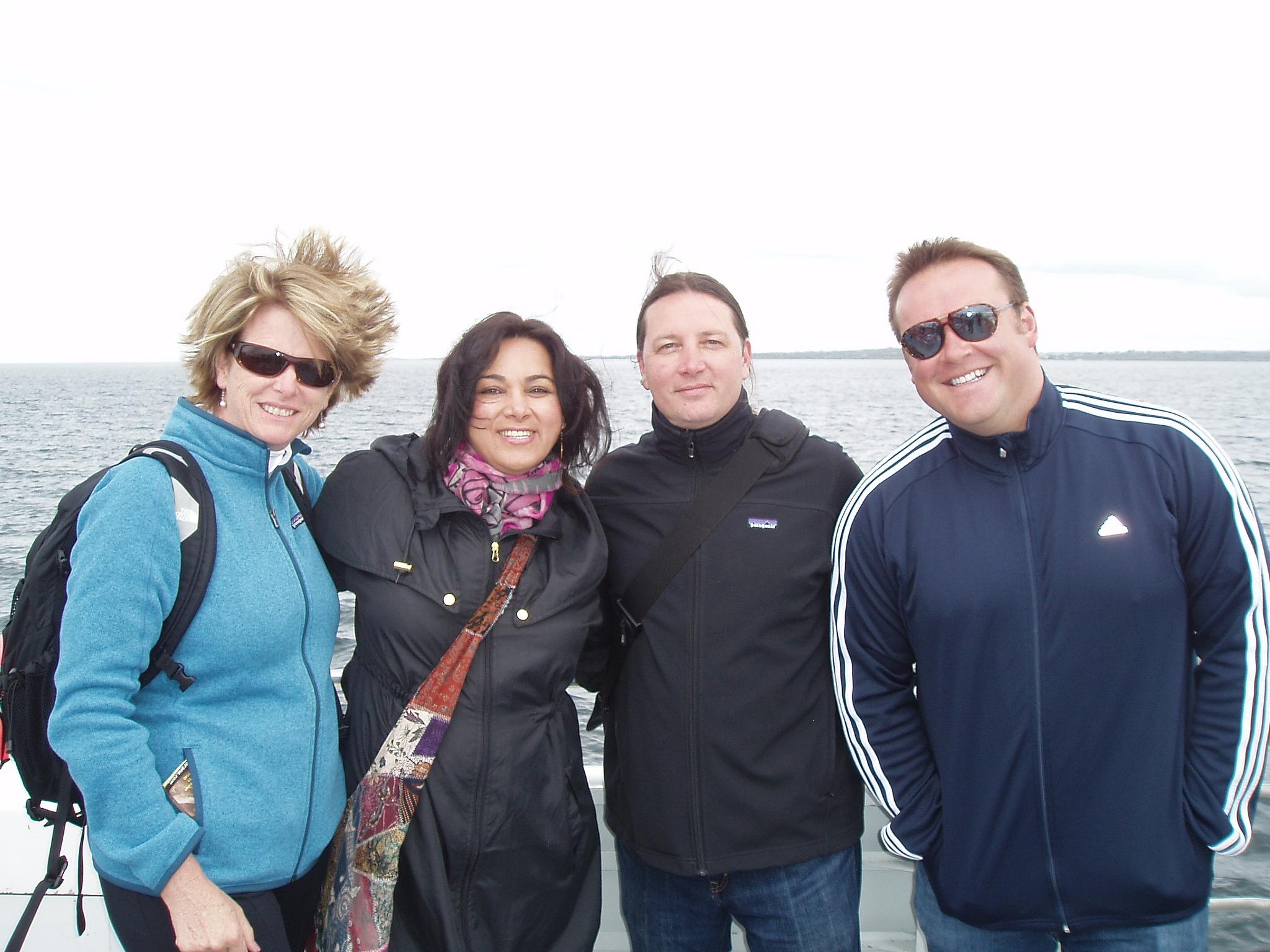 Group on Aran Islands Ireland