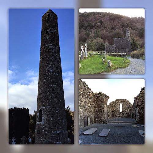 Glendalough Round Tower Wicklow