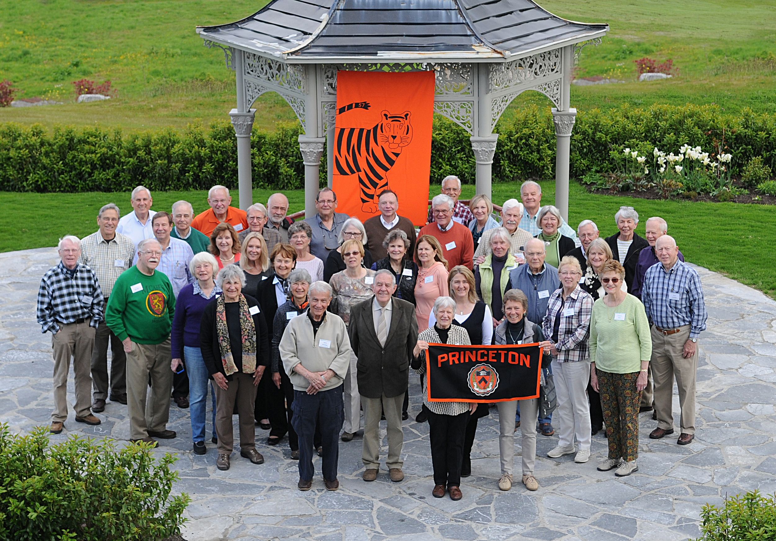 Princeton Alumni Mini Reunion Tour based at Glenlo Abbey Hotel