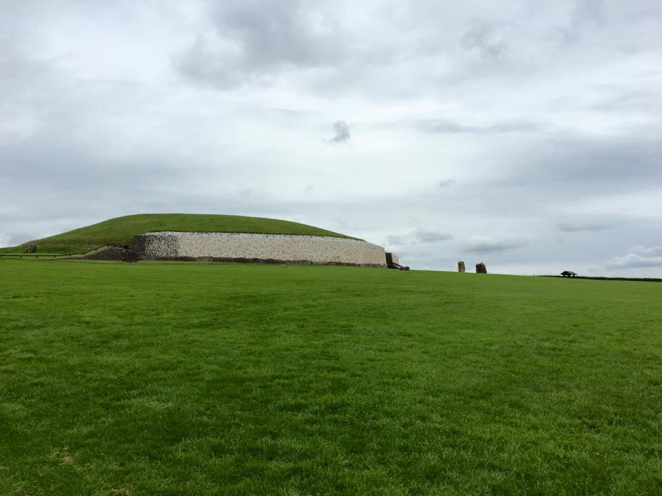 Newgrange Neolithic passage tomb, older than the pyramids.