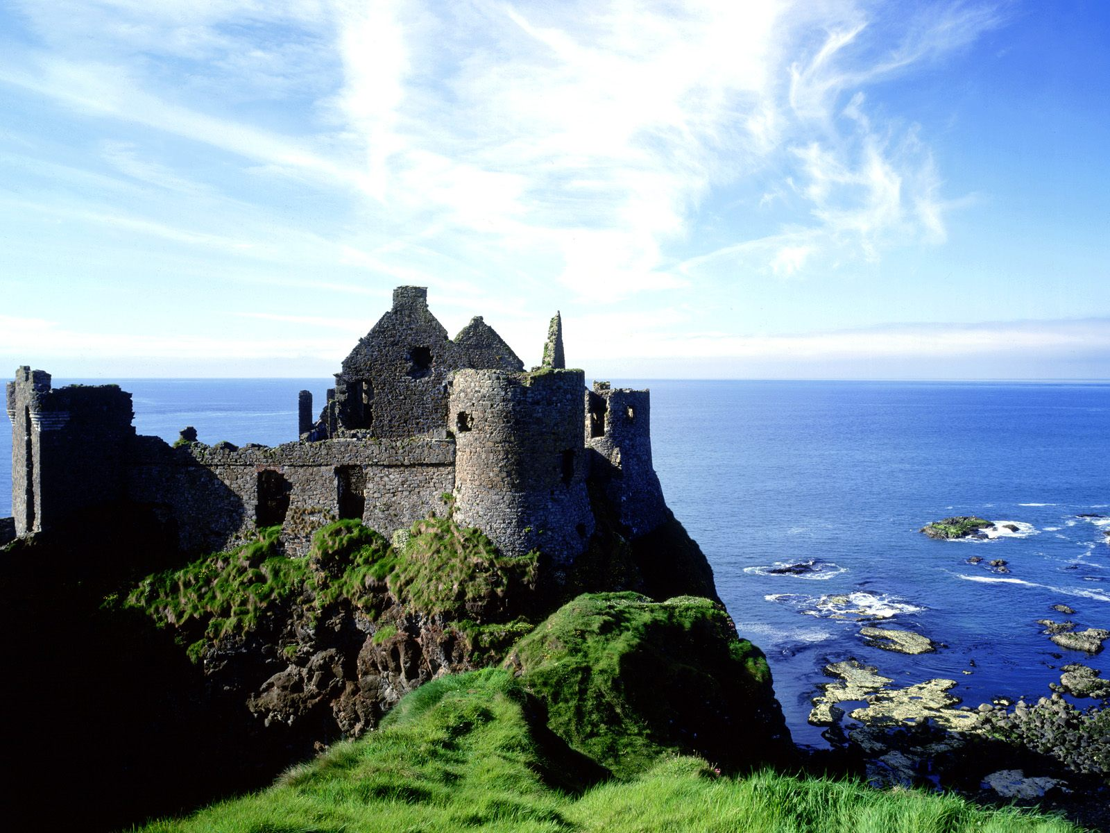 Castles of Ireland Dunluce Castle Northern Ireland