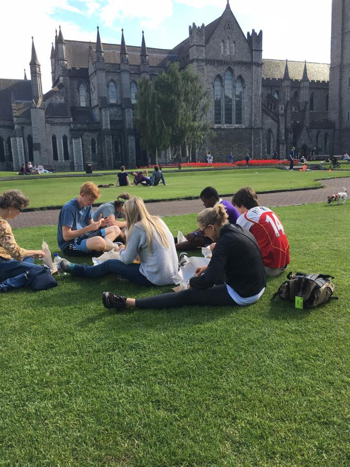 Picnic lunch in Dublin Celtic Footstep.jpg