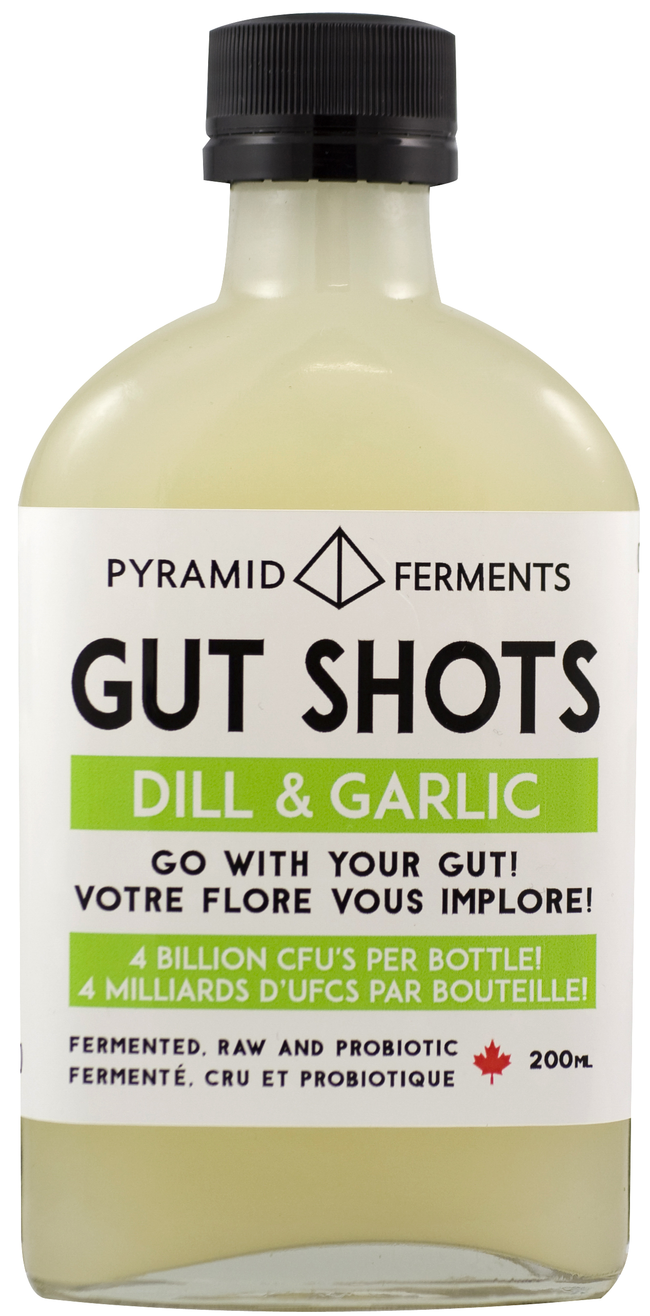 Dill & Garlic Gut Shots