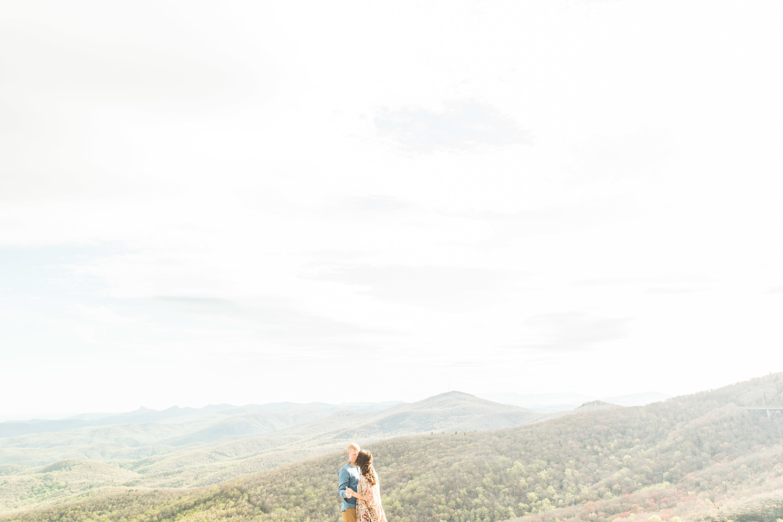 Madalyn Yates Photography Boone Engagement Rough Ridge