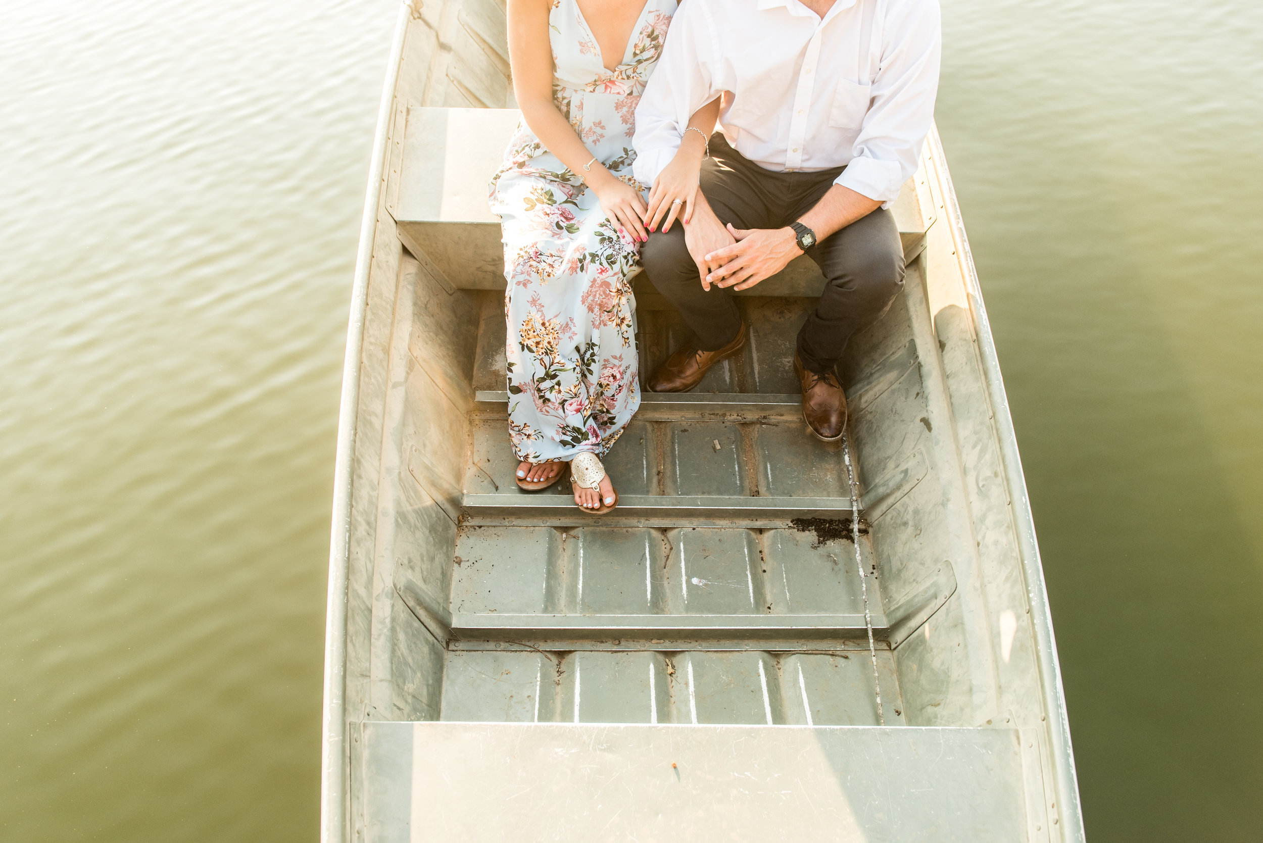 Madalyn Yates Photography North Carolina Wedding Photographer Lake Engagement Session