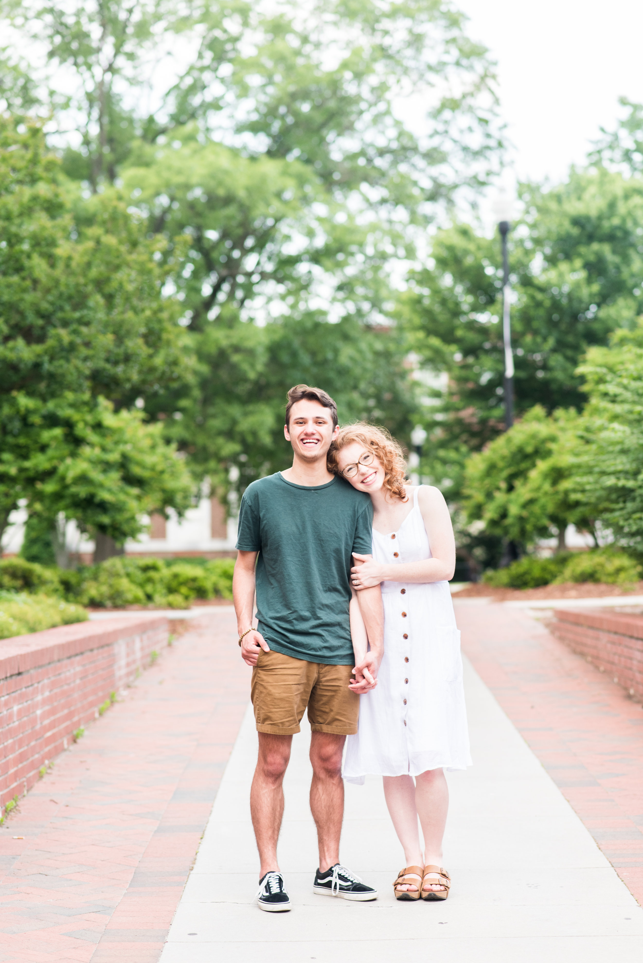 Madalyn Yates Photography Greensboro Wedding Photographer Spring Time Engagement Session