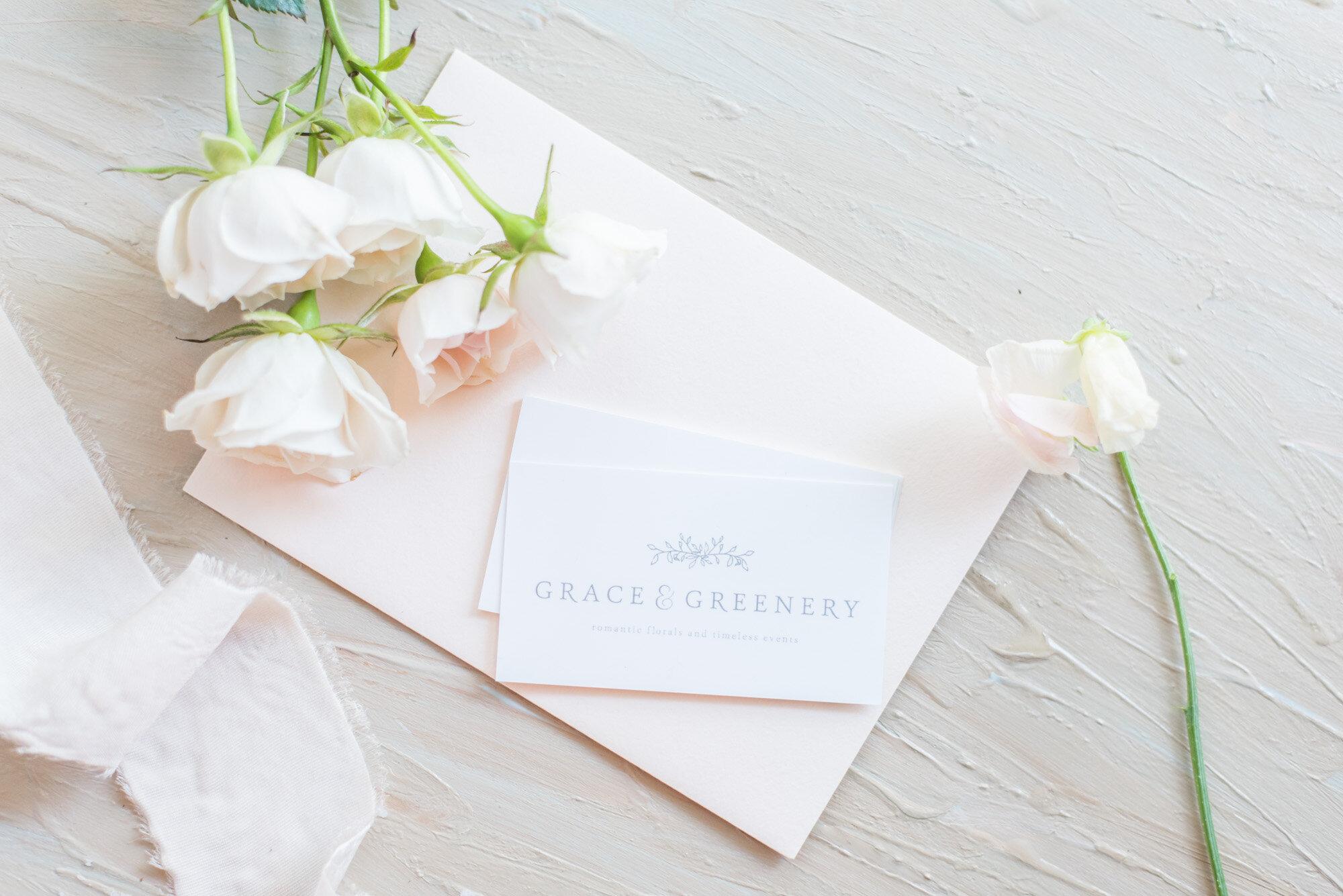Madalyn Yates Photography Business Card Flat Lay