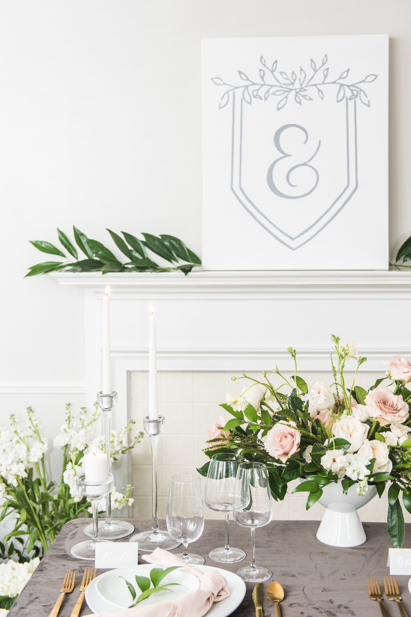 Floral Designer Sweetheart Table Design Branding Madalyn Yates Photography