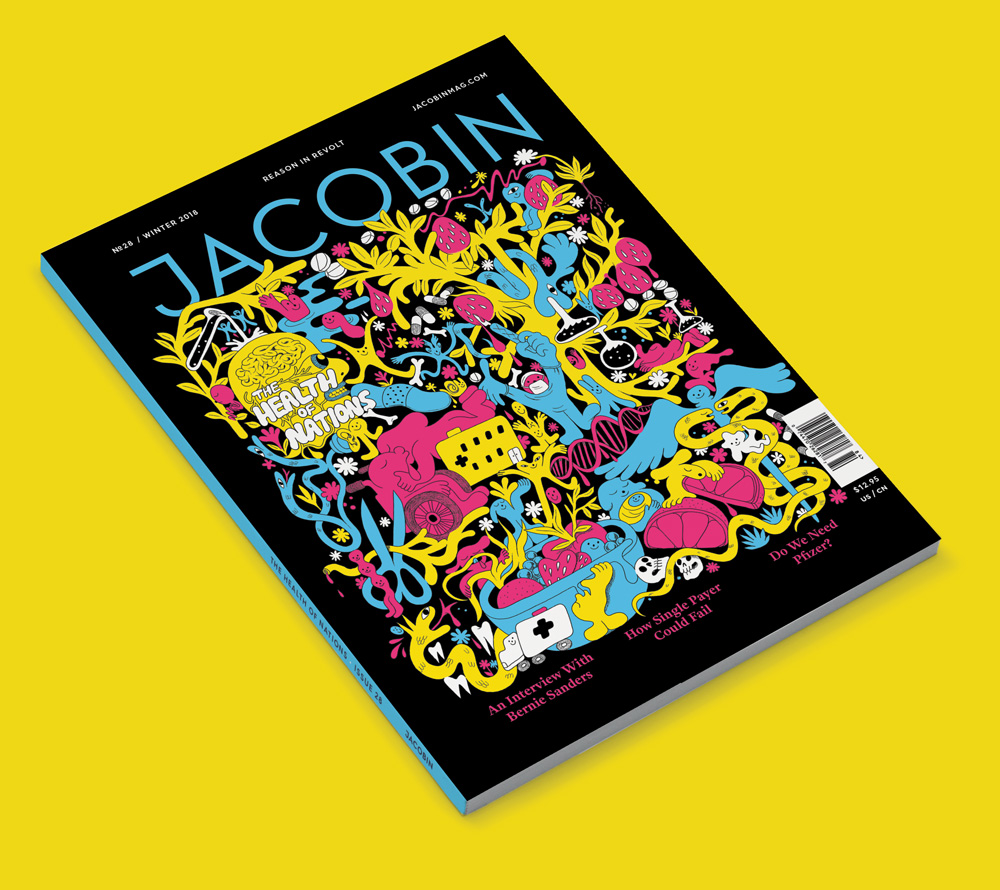 "Jacobin - ""Health of Nations"" cover"