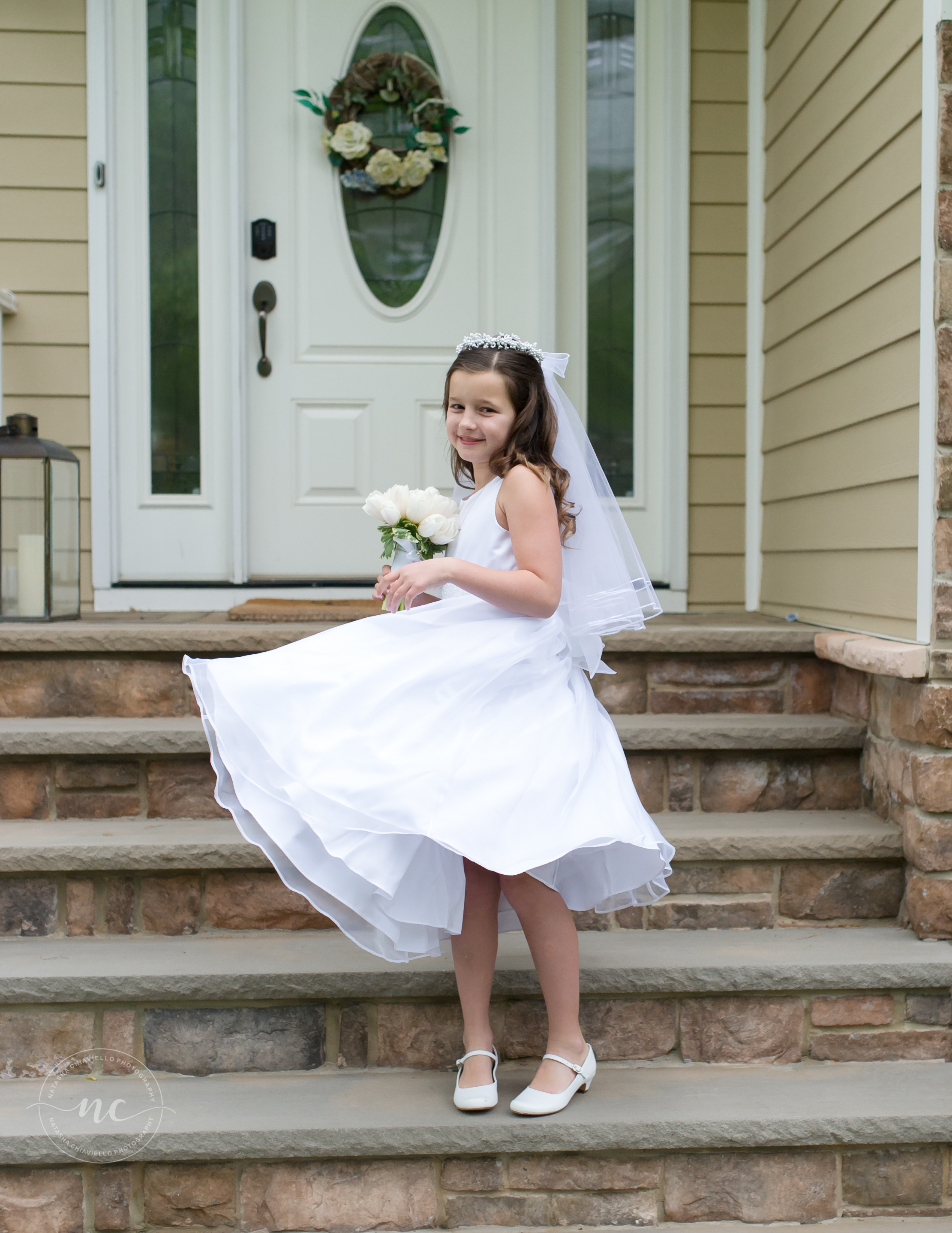 Communion Dress and Details