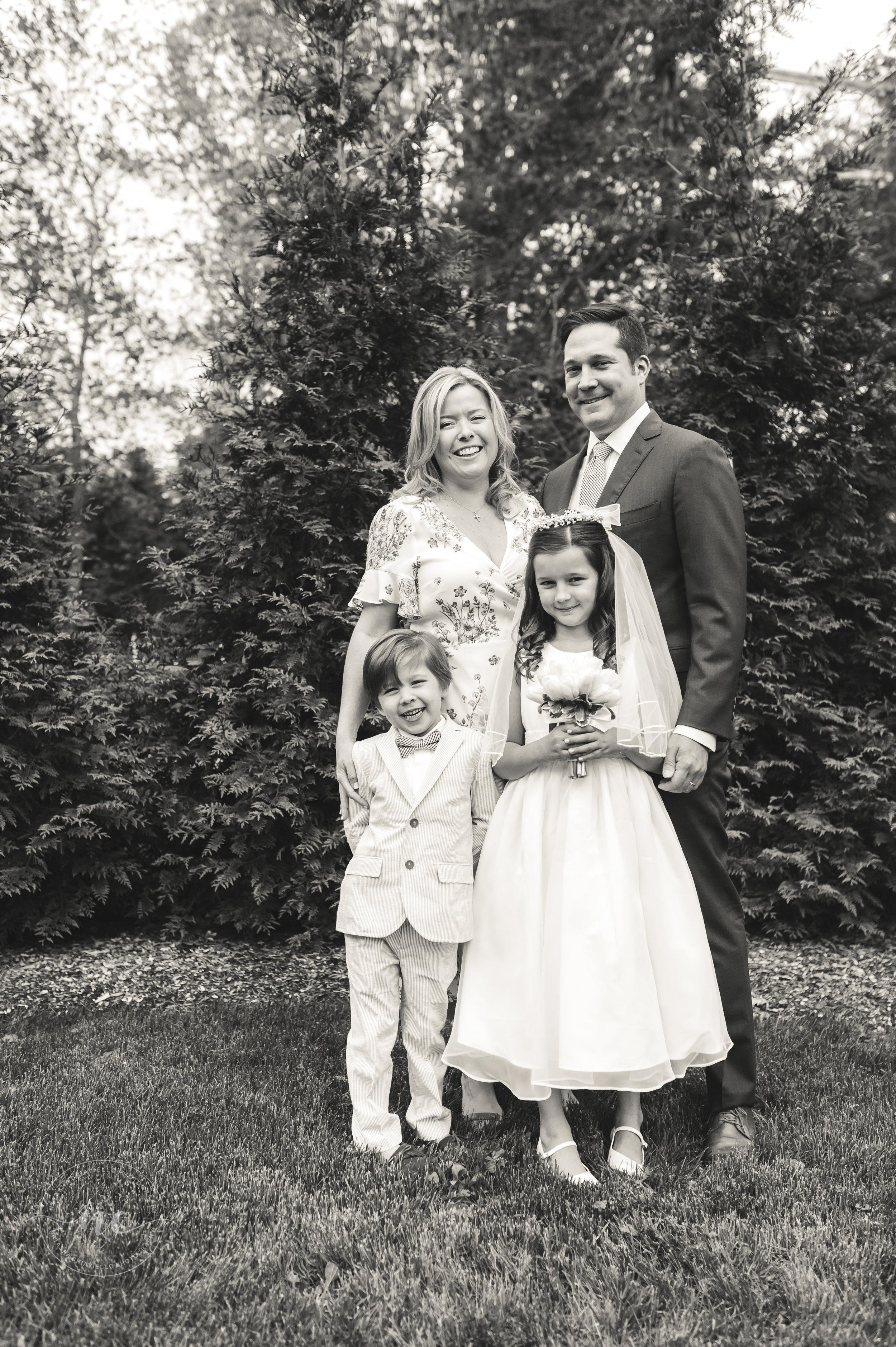 communion family portrait