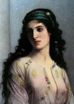 Jewish Woman from Tangier (1874)