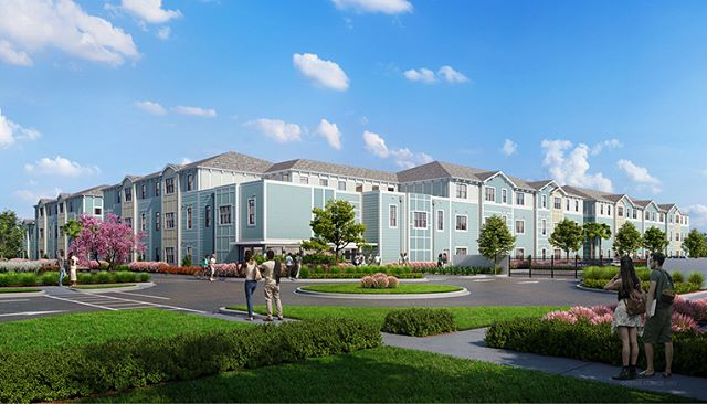 #FeatureFriday Village on Mercy! On this upcoming project, we are working with Ability Housing, supporting their mission to bring quality affordable housing to the Orlando area! • • • • #ENBarch #architecture #rendering #affordablehousing