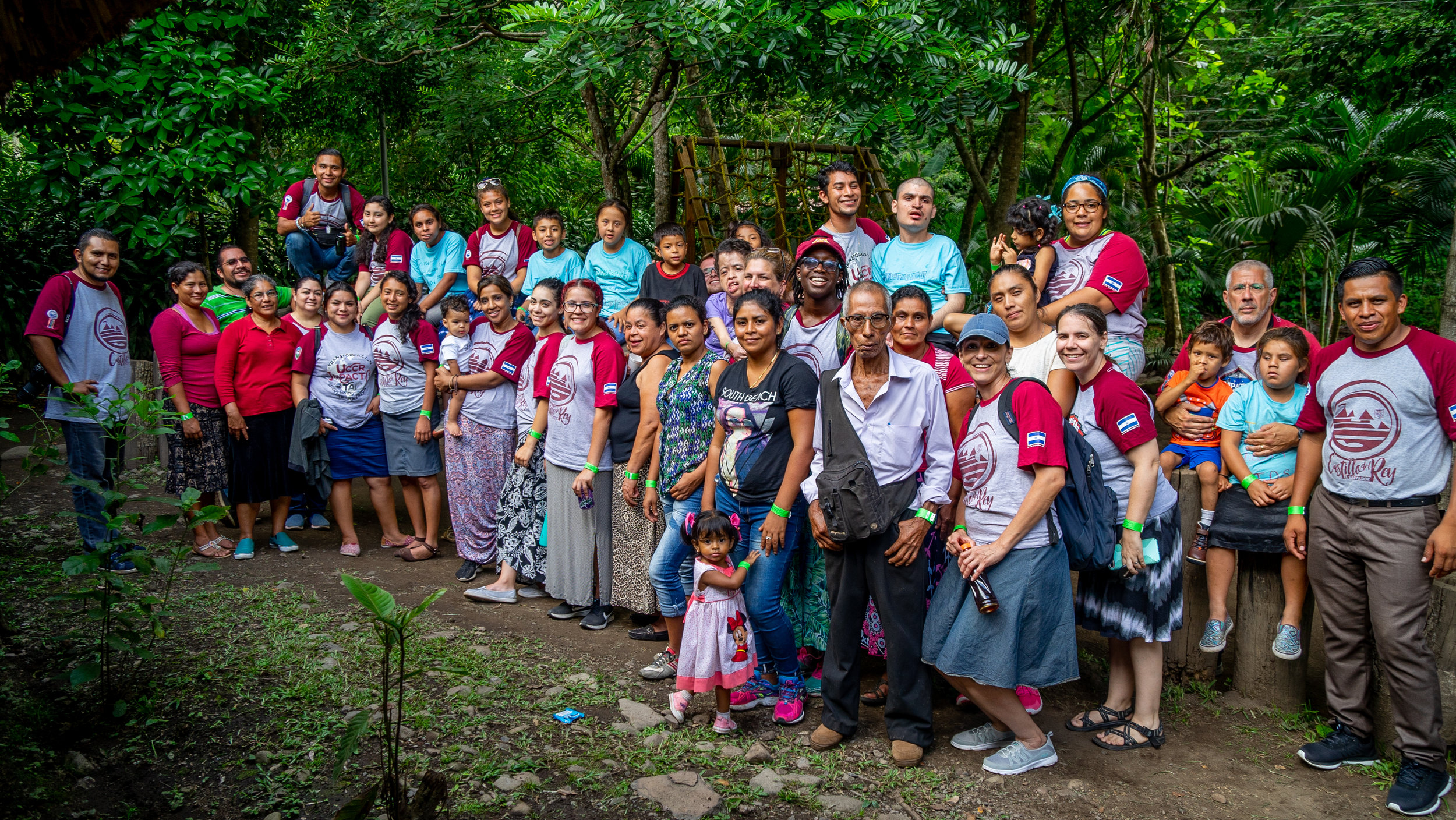 The special needs children that we were able to work with this year in El Salvador, We took them on a field trip to the nature reserve and spent the day, loving, laughing and eating together. We can not wait to go back again next year to love on them some more.