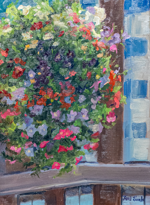 Quick Paint Winner - Joni Jurek - Flower Basket