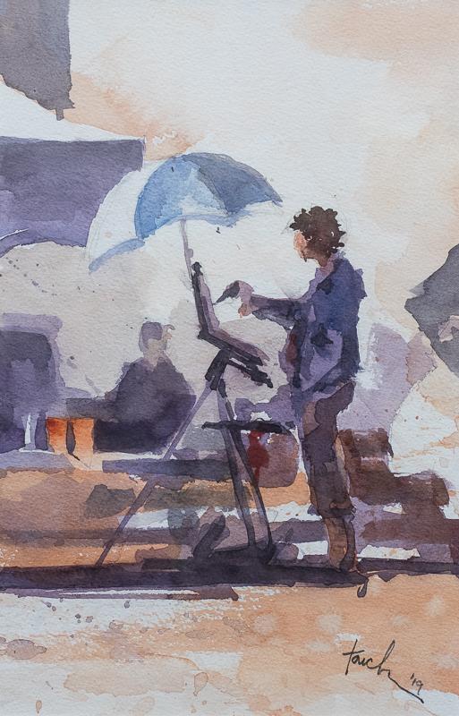 Quick Paint 2nd Place - Jim Faecke - Allison Painting