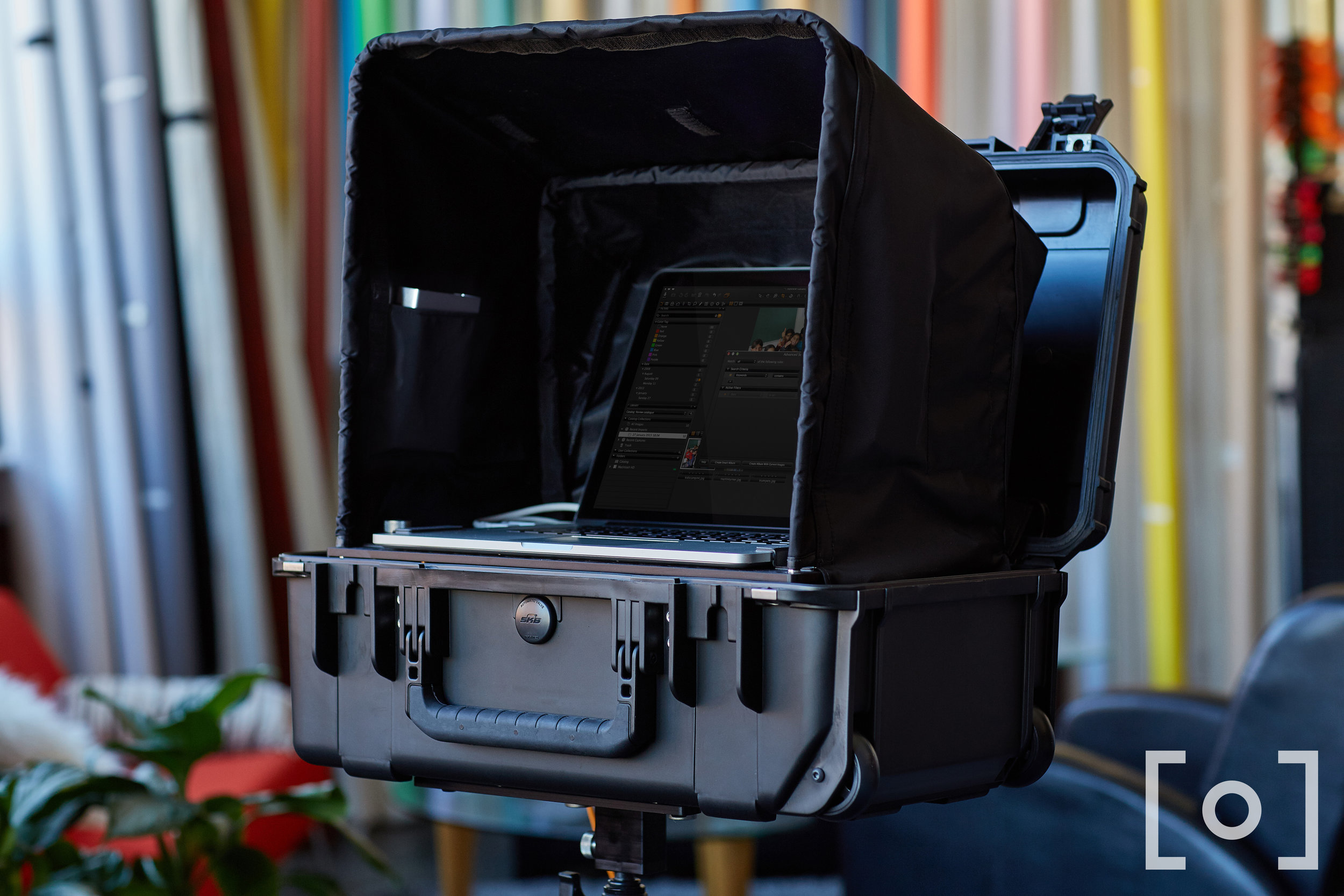The DigiCase Pro with DigiShade Pro setup on a DigiPlate Pro (Lots of Digis)