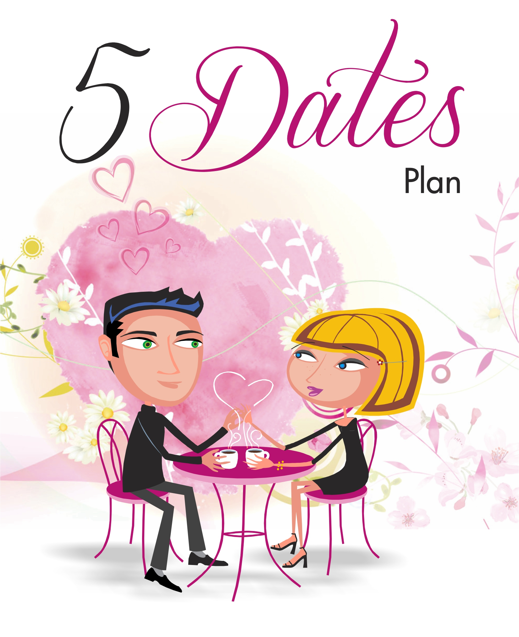 A unique dating app which  includes an e-mail to send out to your network to set up your own                               5 Dates Plan, plus a tracking page for each of your 5 bachelors or bachelorettes.