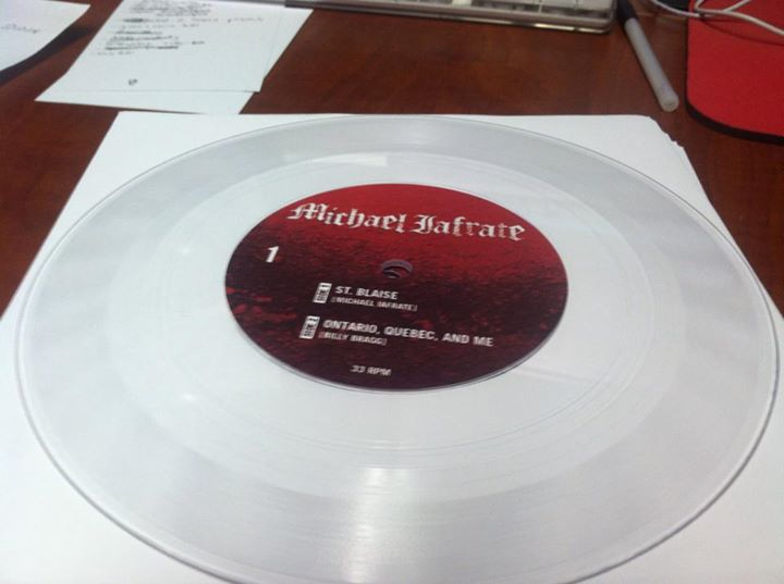 """color label on clear 7"""""""