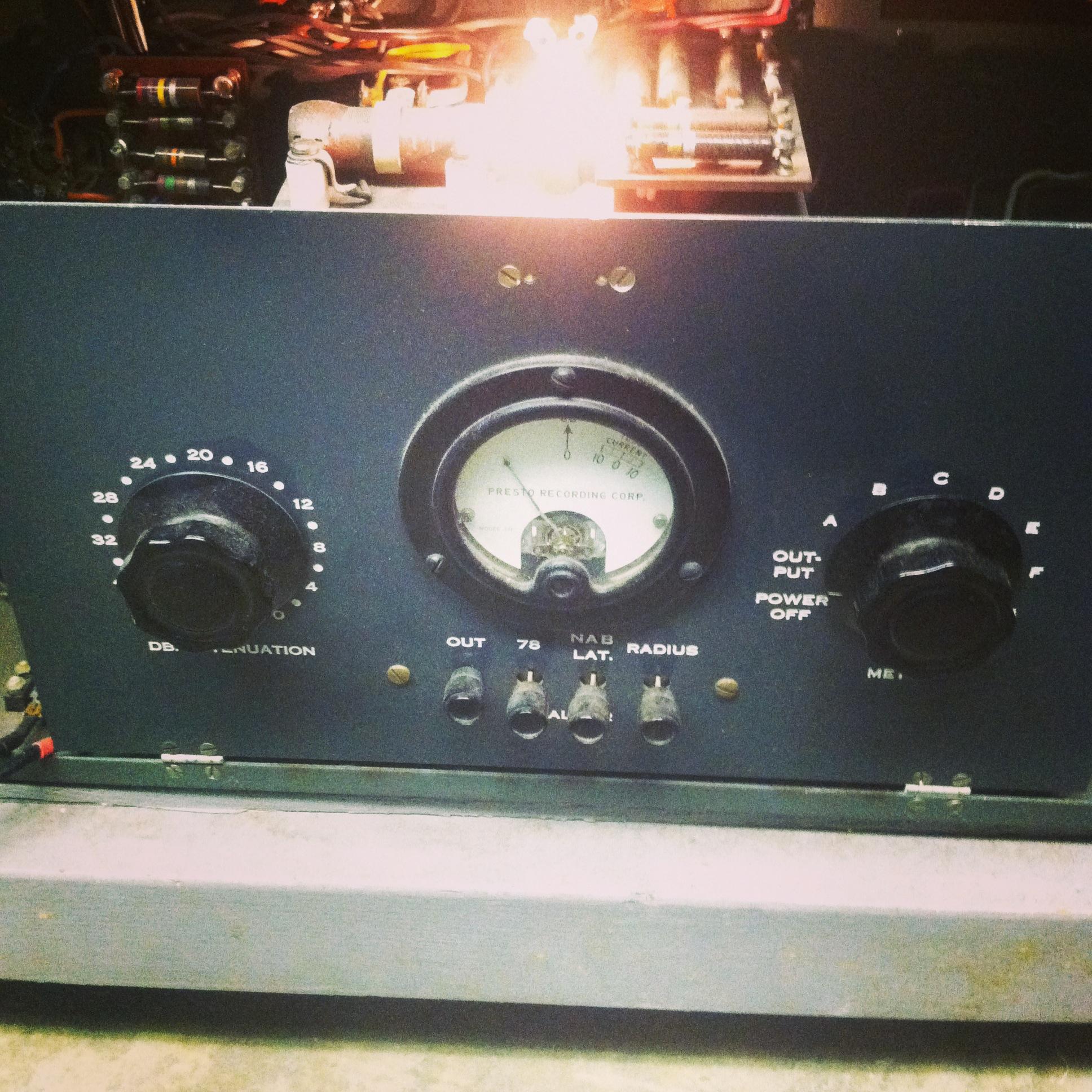 Presto 92 B amplifier
