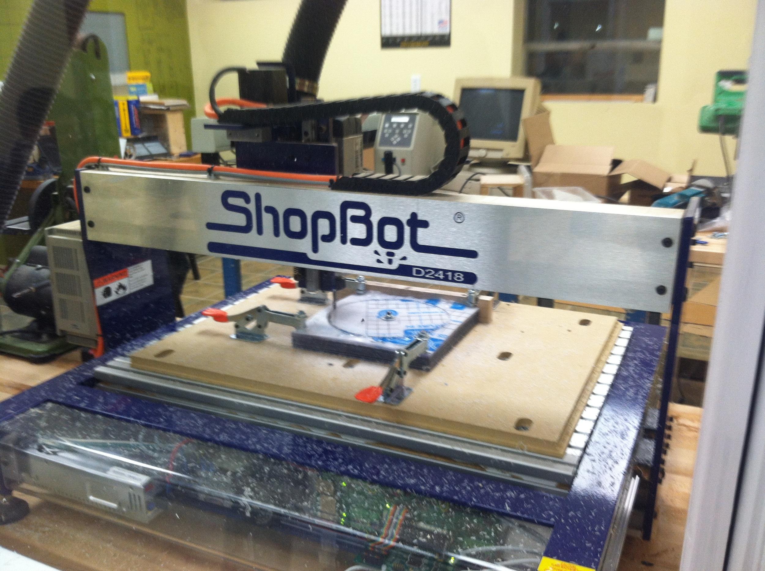 CNC machine, cutting blanks