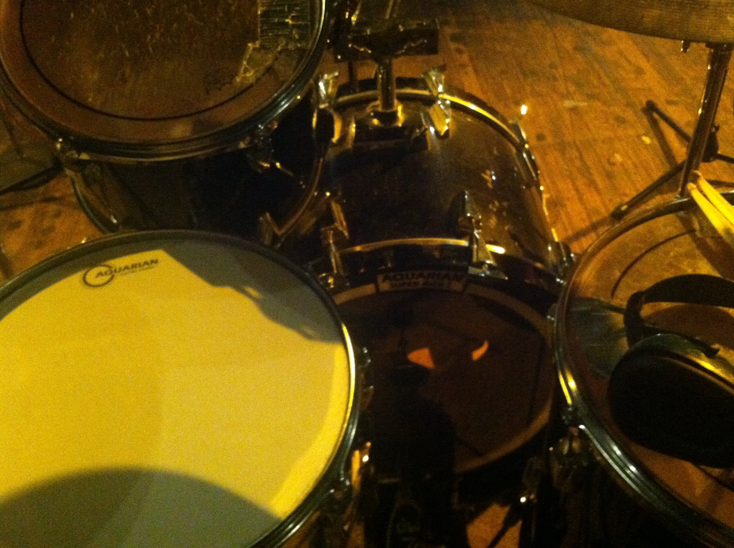 drum tracking at the Heirloom Arts Theater in Danbury, CT