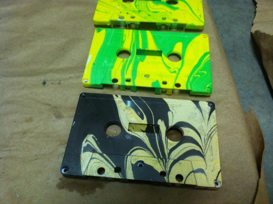 color marbled tapes