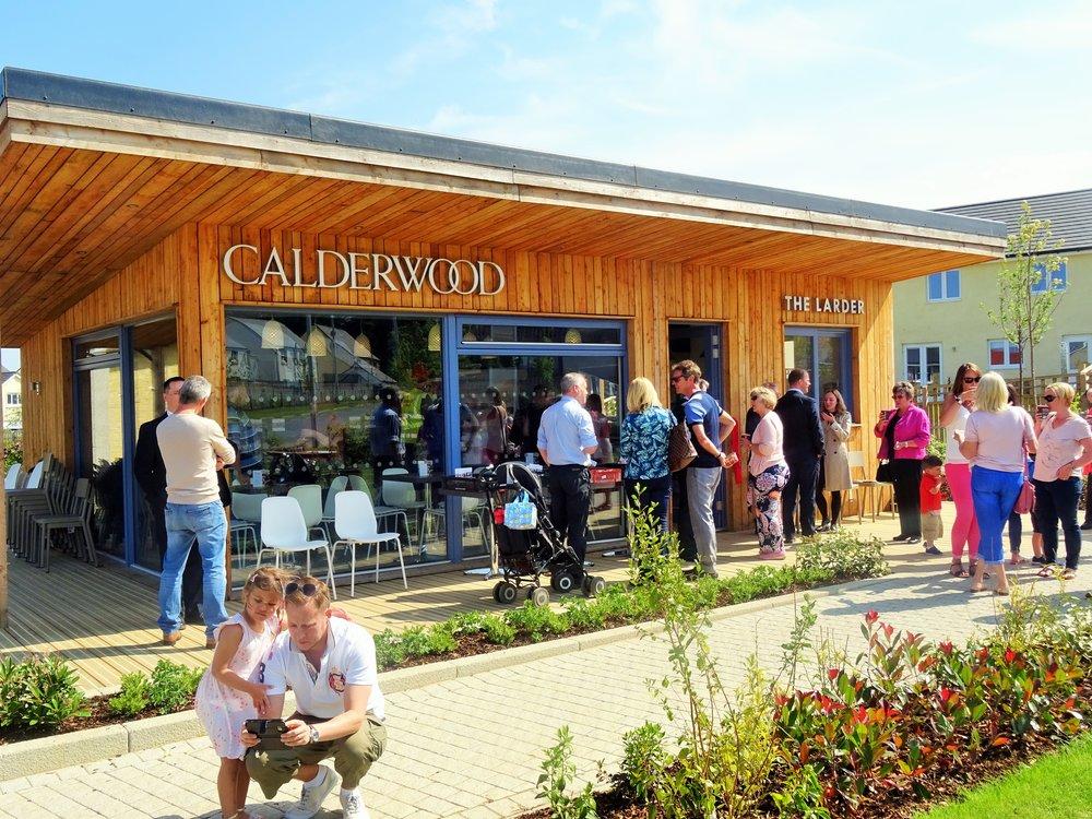 Calderwood Cafe - A community cafe and food hub in Calderwood Livingston